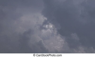 clouds 413 - stormy clouds timelapse