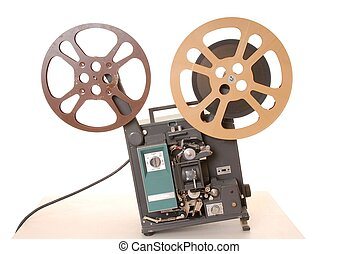 Film Projector 16MM - Old and antique commercial film...