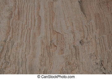 Sandstone Stripe Background - A background of striped...