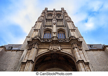 St James Church, Antwerp, Belgium - Amazing facade of St...