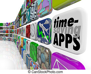 Time Saving Apps Productivity Tools Efficiency Applications...