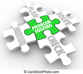 Problem Solving Steps Puzzle Understand Plan Solve Check -...