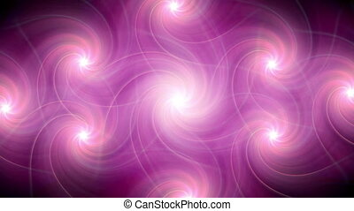 ring flare pattern pink HD