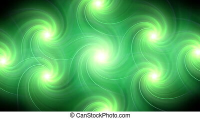 twirl flare pattern green blur HD
