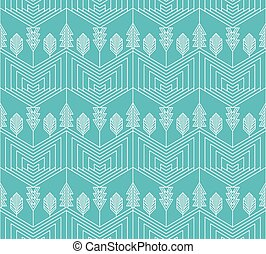 Visual effect geometrical pattern with tree and Christmas...