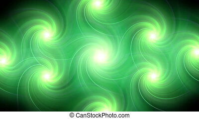 twirl flare pattern green blur - The circle shape of twirl...