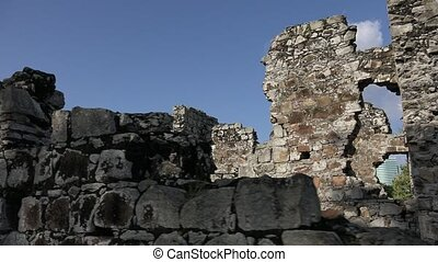 Panama Viejo Ruins Of Old City - Panama City, Central...