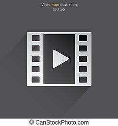 Vector keyframe web icon - Vector keyframe web icon Eps 10