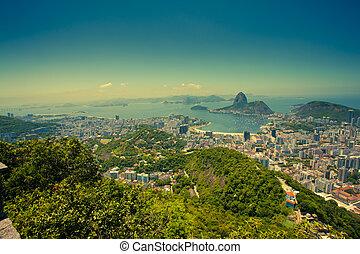 Rio De Janeiro Brazil - views Rio de Janeiro and Sugarloaf...