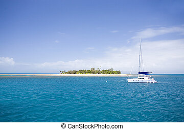 Low Isles at Great barrier reef, Australia