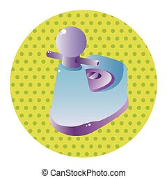 baby potty theme elements