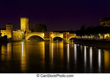 bridge of castelvecchio Verona Italy