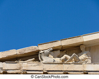 Parthenon, temple on the Athenian Acropolis, Athens