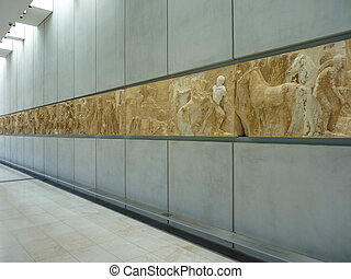 Acropolis Museum - The new Acropolis Museum in Athens,...