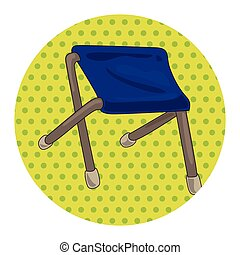 fishing chair theme elements