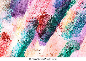 watercolor strokes painting closeup - abstract watercolor...