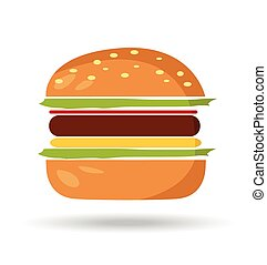 Hamburger symbol - burger symbol hamburger icon design