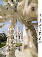 White temple, Chiang Rai, Thailand