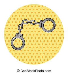 handcuff theme elements