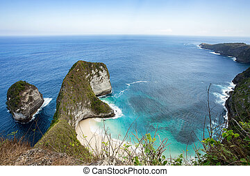 dream Bali Manta Point Diving place at Nusa Penida island -...