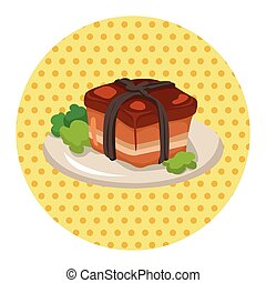 chinese food theme elements