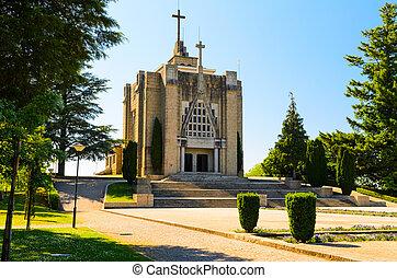 Monte de Santa Catarina or Montanha da Penha church,...