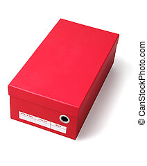 Red Shoes Box