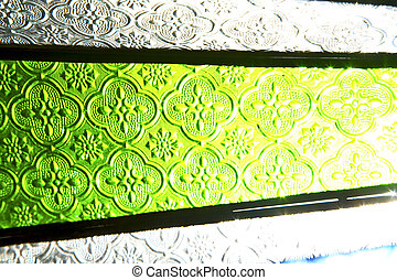 colorated sun in morocco africa window and - colorated glass...