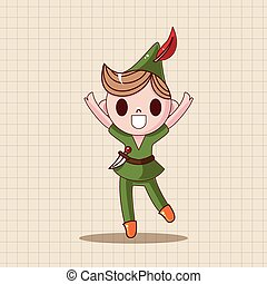 Peter Pan theme elements
