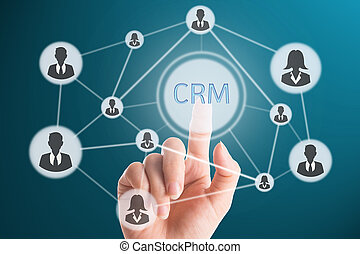 Touching CRM for go to good relationaship with customer