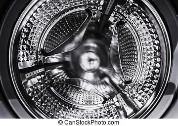 steel drum washing machine