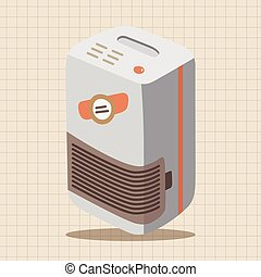 Dehumidifiers theme elements