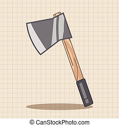 work tool axe theme elements