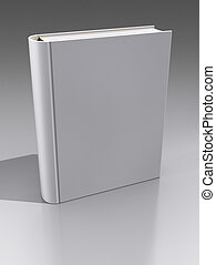 Knowledge Concept - Your words or image on the hardcover...