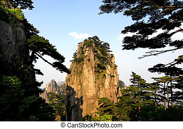 Mount Huangshan - Chinese well-known scenic spot - Mt....