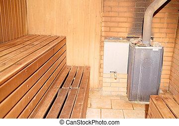 bath house - Interior of a bath house