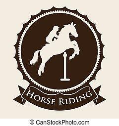 Horse Riding design - Horse Riding digital design, vector...