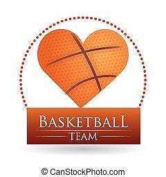 Basketball design - Basketball digital design, vector...
