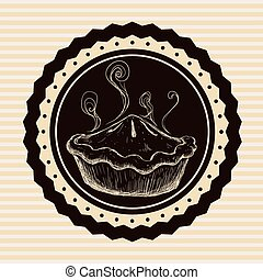 Bakery design - Bakery digital design, vector illustration...