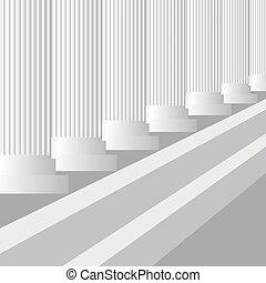 Grey Columns