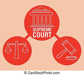 Justice design - Justice digital design, vector illustration...