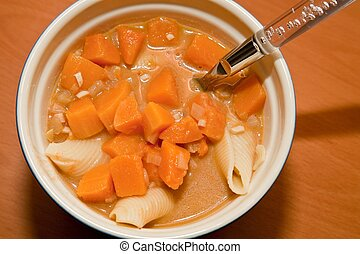 Peanut and squash soup - Kwanzaa celebrations incorporate...