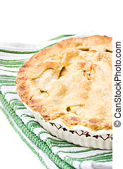 Apple Pie - Fresh apple pie with a golden buttery crust...