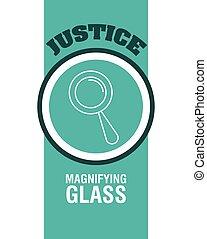 Justice design - Justice digital design, vector illustration...