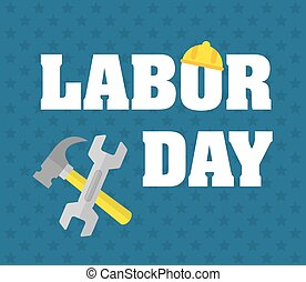Labor day design.