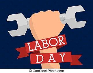 Labor day design.