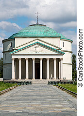 Mausoleo of Bela Rosin - A little Pantheon in Turin - Italy
