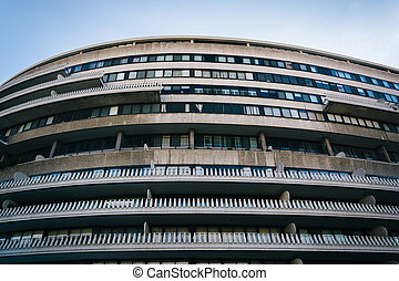 The Watergate Hotel, in Washington, DC.