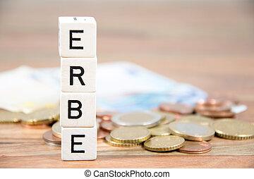 the german word erbe