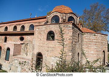 Hagia Sophia Museum in Iznik Town, Turkey
